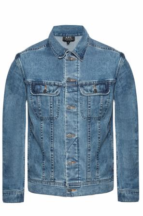 Stonewashed denim jacket od A.P.C