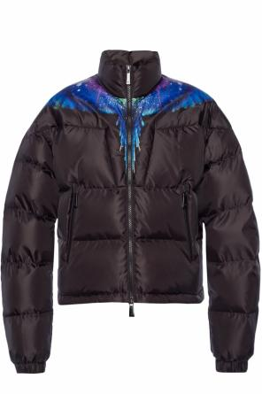 Quilted down jacket od Marcelo Burlon