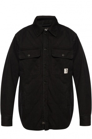 'd-welles' two-layered jacket od Diesel