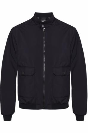 Band collar bomber jacket od Moncler