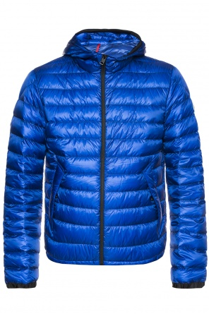 Quilted down jacket with logo od Moncler