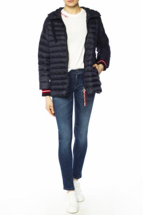 Hooded quilted jacket od Moncler