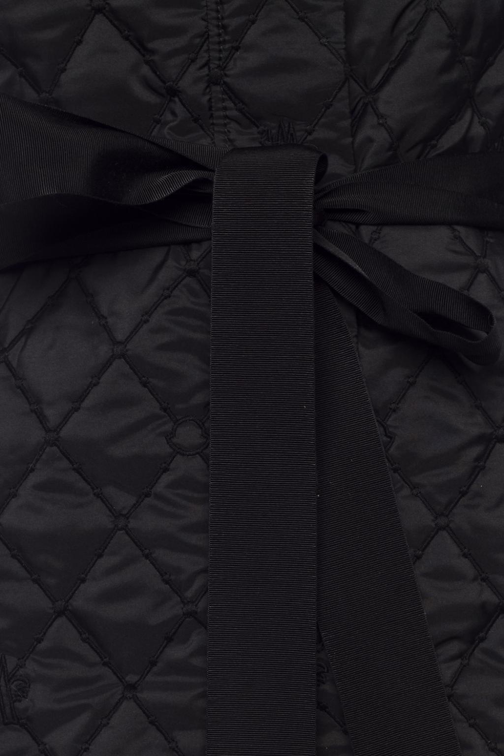 Moncler 'O' Pikowana kurtka z logo