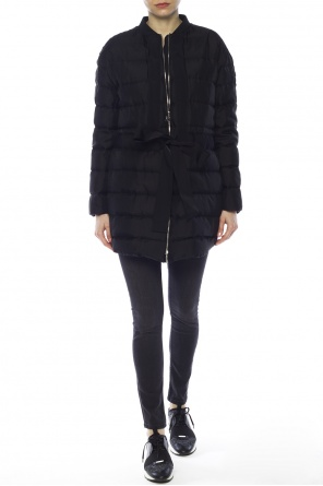 Long quilted down jacket od Moncler Gamme Rouge