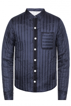 Quilted jacket with raised collar od Moncler Gamme Bleu