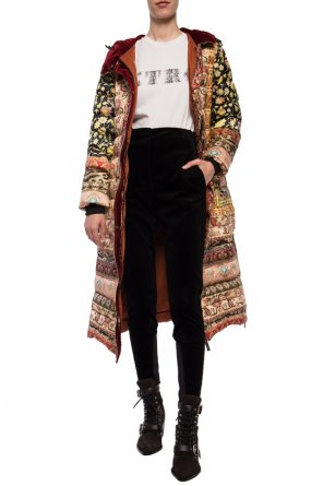 Patterned coat od Etro