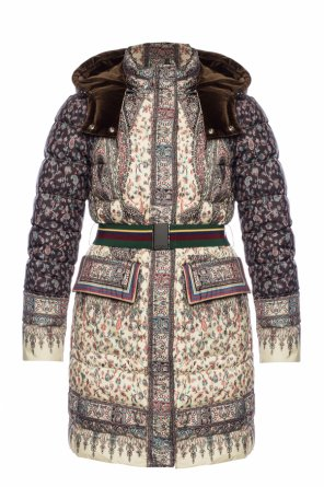 Quilted down coat od Etro