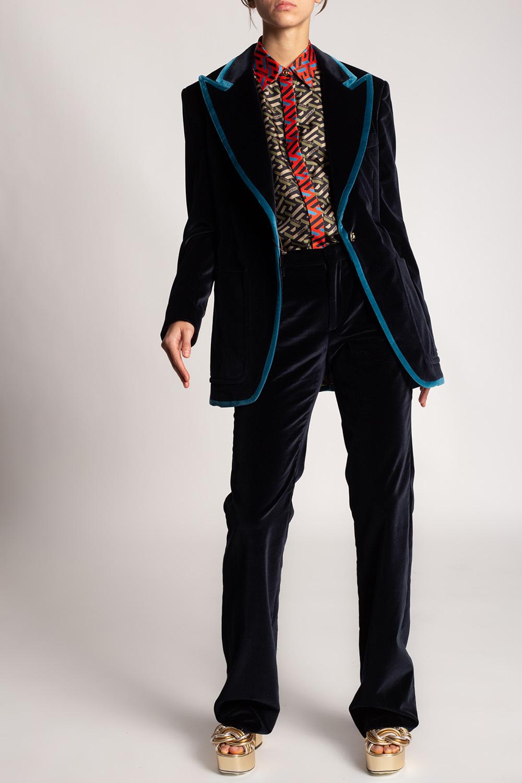 Etro Velour blazer