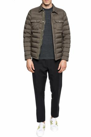 'caph' quilted down jacket od Moncler