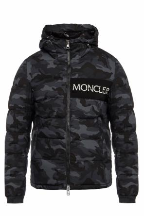 Camo quilted jacket od Moncler