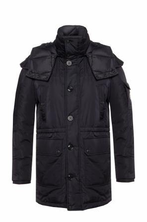 Down jacket with detachable hood od Moncler