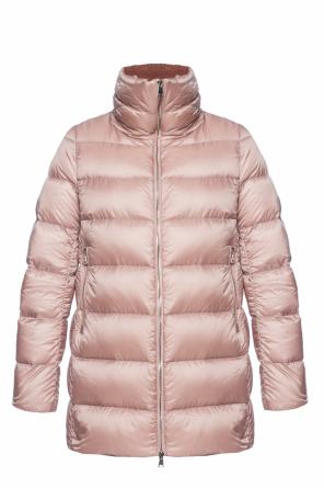 Down jacket with a velvet collar od Moncler