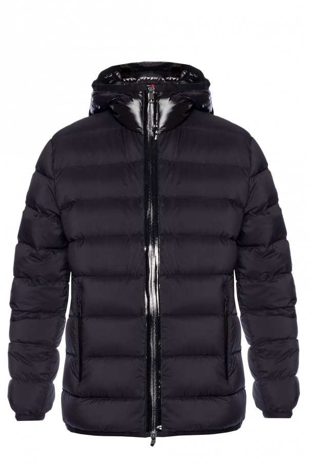 b4a9a2a5c Logo-patched quilted jacket Moncler - Vitkac shop online