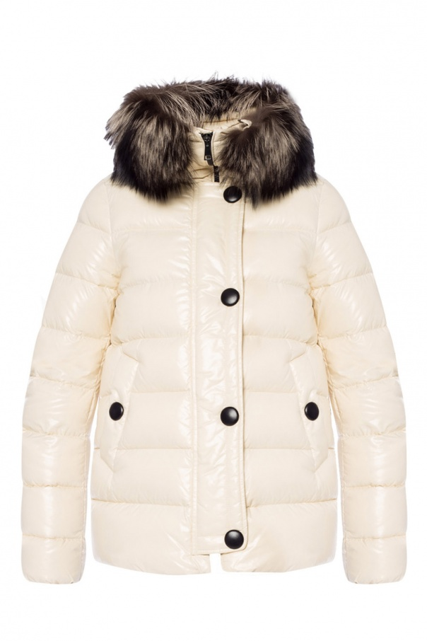 d6fdab2bf Tarier' jacket with fur collar Moncler - Vitkac shop online