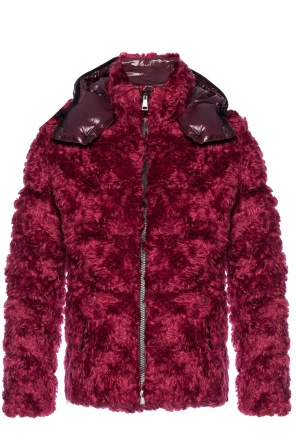 Fur down jacket od Moncler