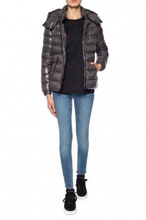 Hooded quilted down jacket od Moncler