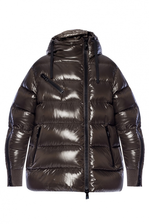 b0a8e1225 Quilted down jacket with logo Moncler - Vitkac shop online