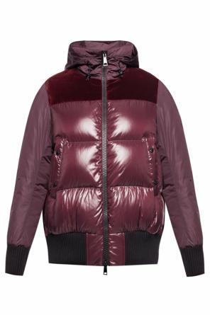Quilted bomber jacket od Moncler