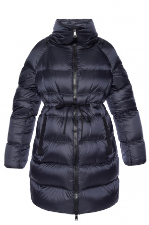 Long down jacket od Moncler