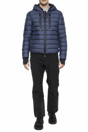 Striped down jacket od Moncler Grenoble