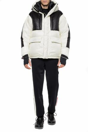 Hooded quilted down jacket od Moncler Grenoble
