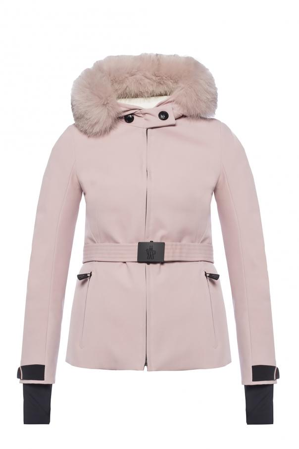 c15a21e49 Bauges' down jacket with fur hood Moncler Grenoble - Vitkac shop online