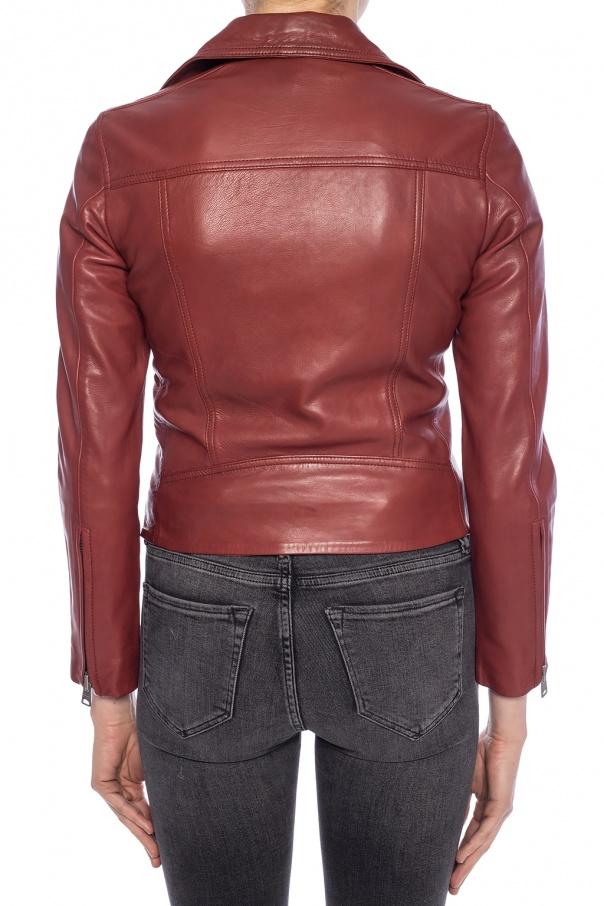 b809d8d1d Dalby' leather jacket AllSaints - Vitkac shop online