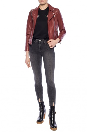 'dalby' leather jacket od AllSaints