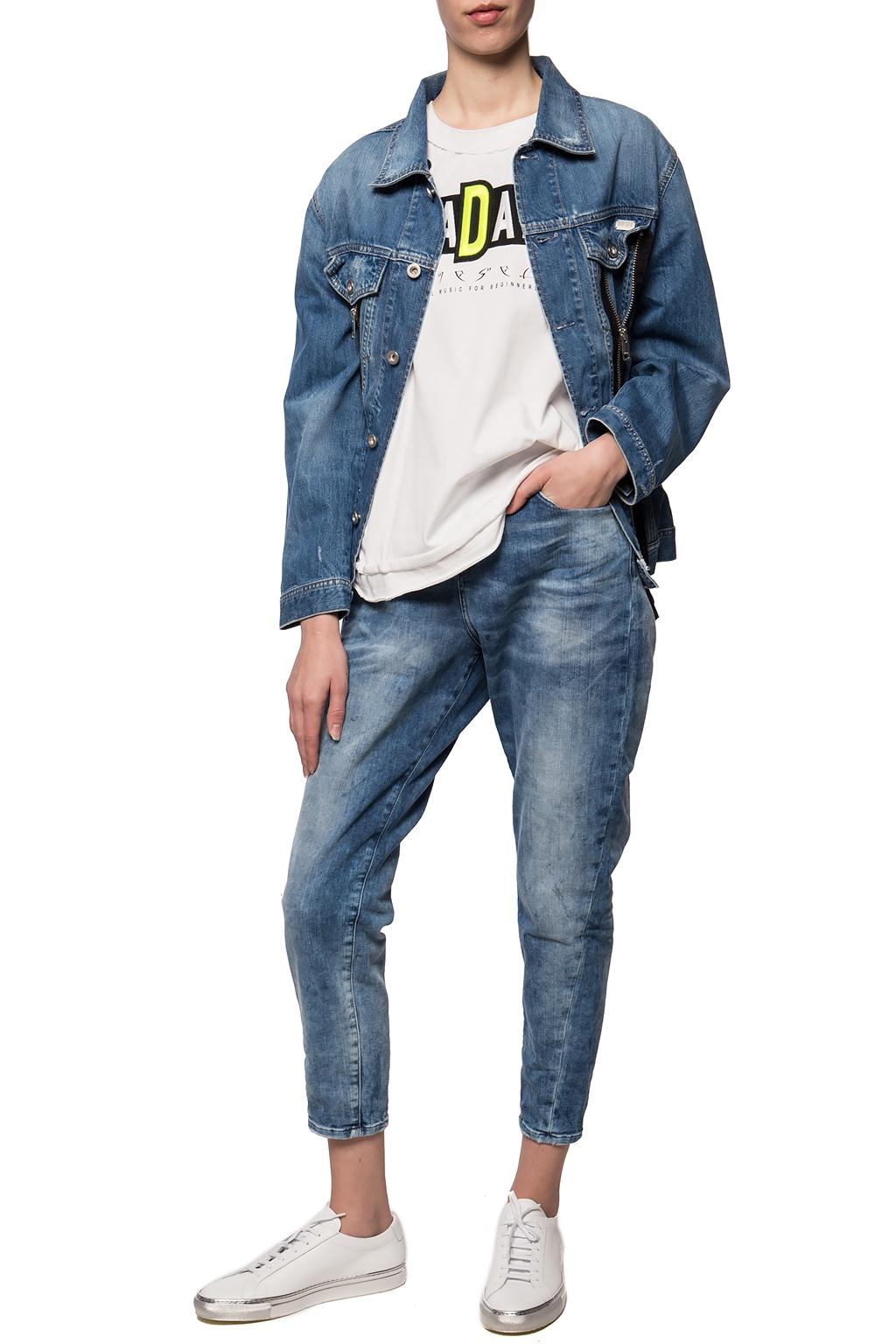 Diesel Zipped denim jacket