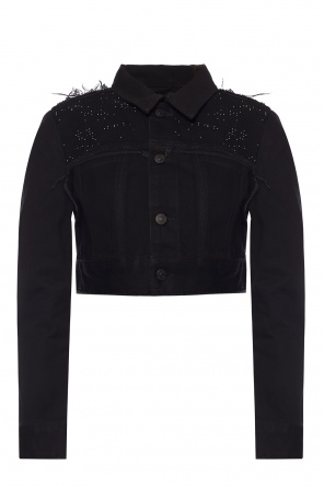 Embellished denim jacket od Diesel