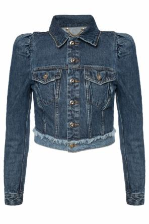 Cropped denim jacket od Diesel