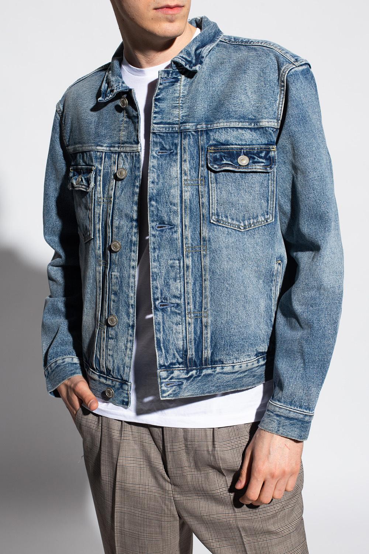 AllSaints 'Delta' stonewashed denim jacket