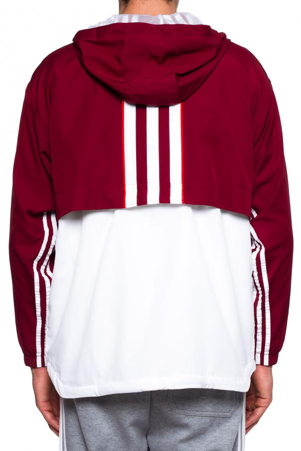 Hooded sweatshirt with logo od ADIDAS Originals