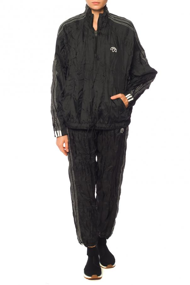 Polyester track pants od ADIDAS by Alexander Wang