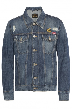 Denim jacket with holes od Vivienne Westwood