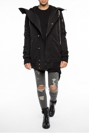 Hooded jacket od Rick Owens DRKSHDW
