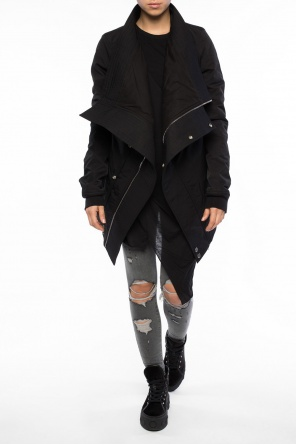 Jacket with collar od Rick Owens DRKSHDW