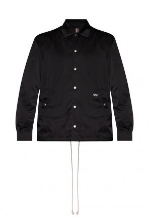 Jacket with logo od Rick Owens DRKSHDW