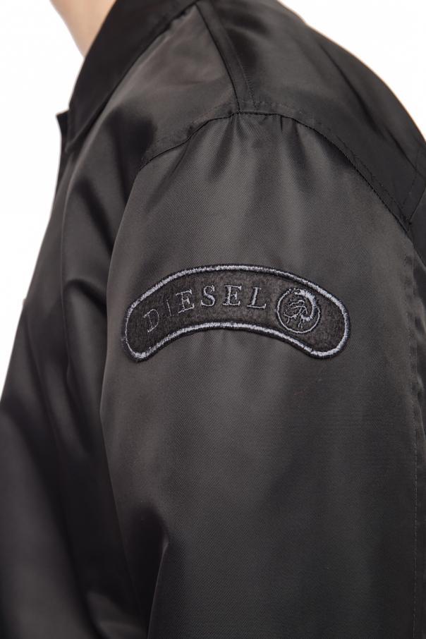 Logo-embroidered jacket od Diesel