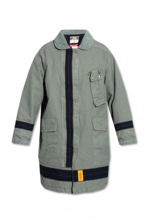Coat with corduroy collar od Diesel