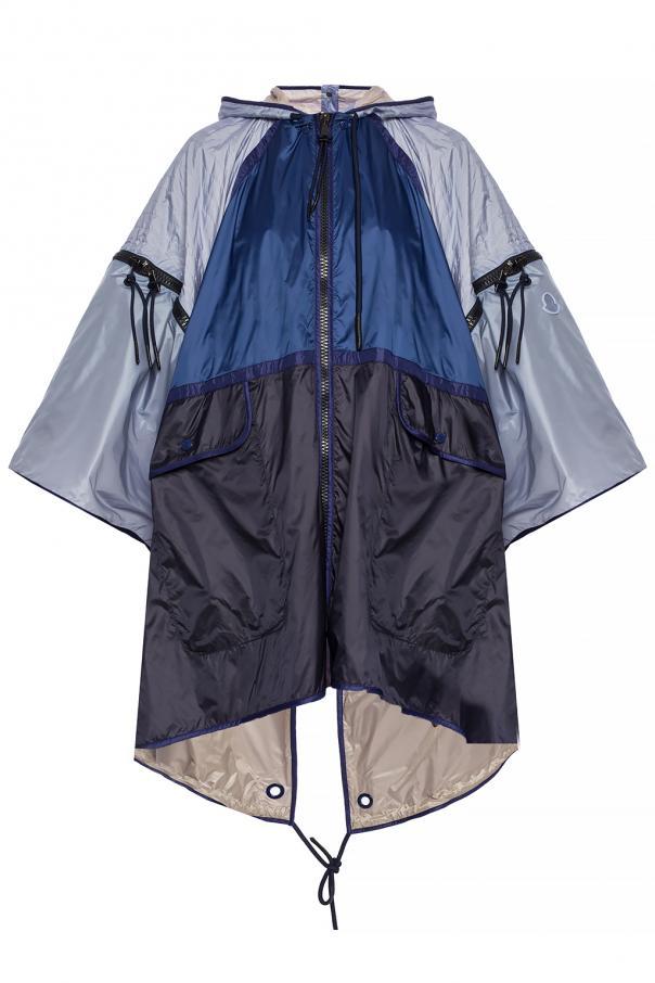 Moncler 'Asmara' branded raincoat