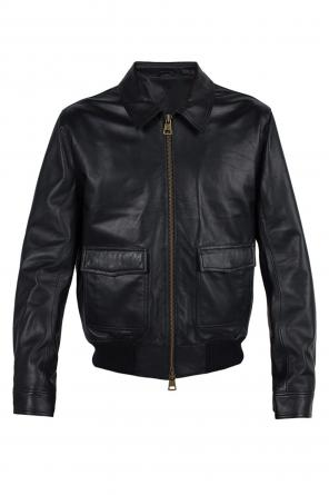 Leather jacket od Ami Alexandre Mattiussi