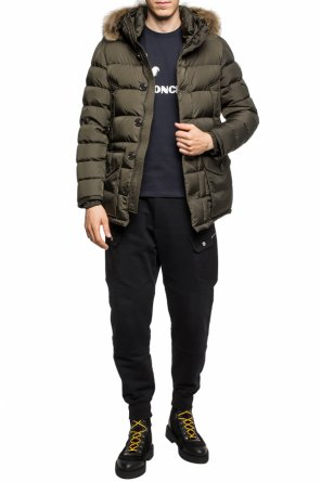 'cluny' quilted down jacket od Moncler