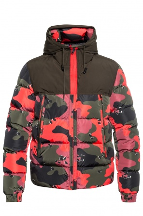 'eymeric' patterned down jacket od Moncler