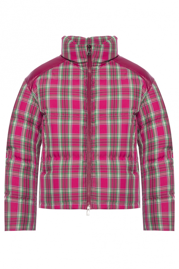 eba08929f Chou' quilted check down jacket Moncler - Vitkac shop online