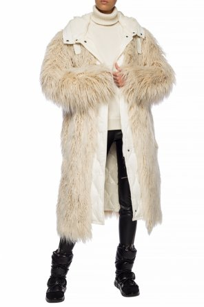 'bouregreg' fur coat with jacket od Moncler