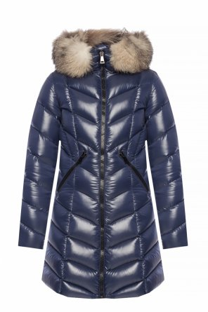 'fulmarus' quilted down coat od Moncler