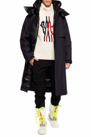 'ruinette' two-layered coat od Moncler Grenoble