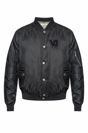 Down bomber jacket od Versace Jeans