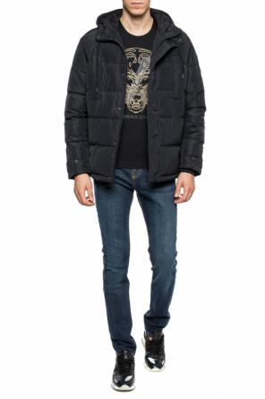 Hooded down jacket od Versace Jeans
